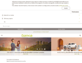 buscador.bankia.es screenshot