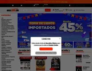 buscalibre.com.mx screenshot