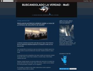 buscandoladolaverdad.blogspot.com screenshot