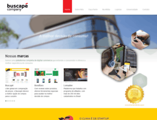 buscapecompany.com screenshot