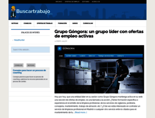 buscartrabajo.com screenshot