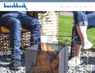buschbeck.de screenshot