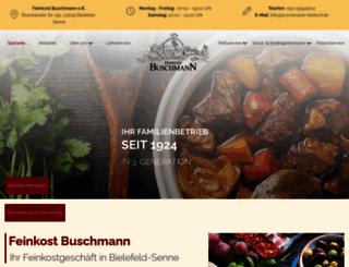 buschmann-feinkost.de screenshot