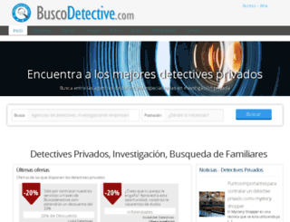 buscodetective.com screenshot