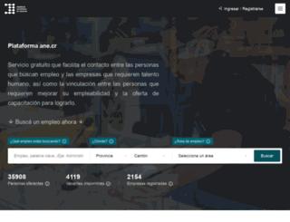 buscoempleocr.com screenshot