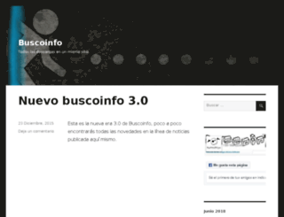 buscoinfo.net screenshot