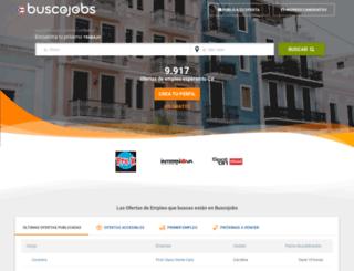 buscojobs.com.pr screenshot