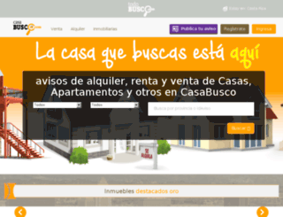 buscomicasa.cr screenshot