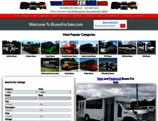 busesforsale.com screenshot