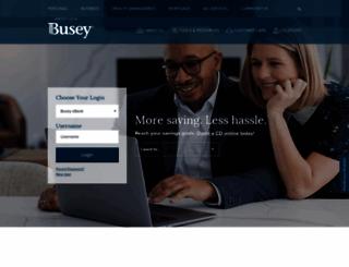 busey.com screenshot