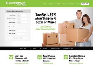 busfreighter.com screenshot