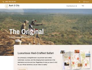 bush2cityadventure.com screenshot