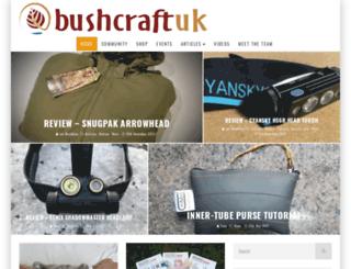 bushcraftuk.com screenshot