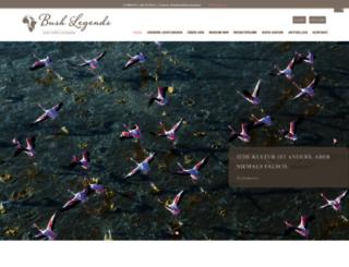 bushlegends.com screenshot