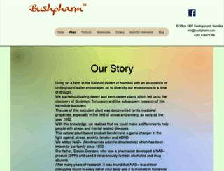 bushpharm.com screenshot