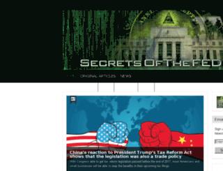 bushrunningdrugs.secretsofthefed.com screenshot