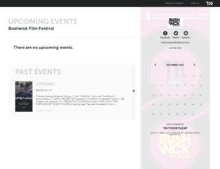 bushwickfilmfestival.ticketleap.com screenshot