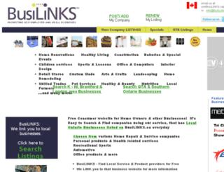 busilinks.ca screenshot