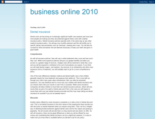 busineseonline2010.blogspot.com screenshot