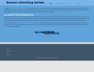 business-advertising-reviews.co.uk screenshot