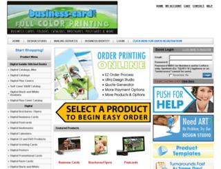 business-card.com screenshot