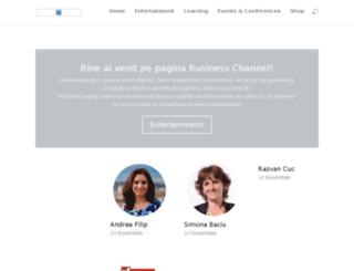 business-channel.ro screenshot