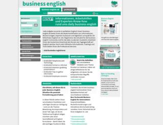business-english.de screenshot
