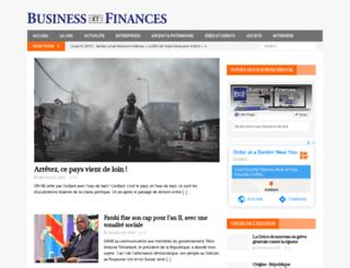 business-et-finances.com screenshot
