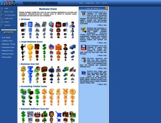 business-icons.com screenshot