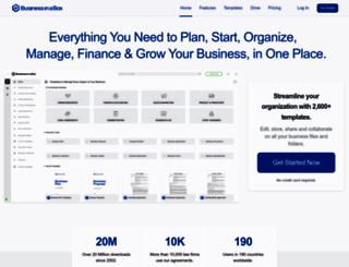 business-in-a-box.com screenshot