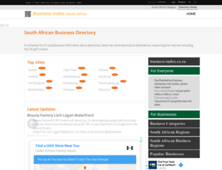 business-index.co.za screenshot