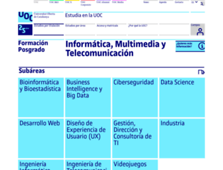 business-intelligence.uoc.edu screenshot
