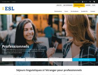 business-language-training.org screenshot
