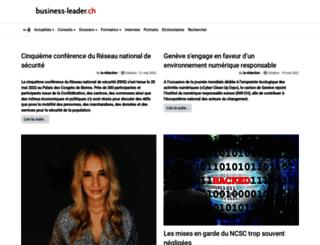 business-leader.ch screenshot