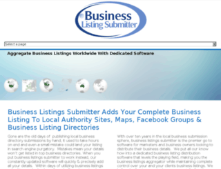 business-lister.com screenshot