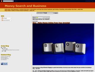 business-money-search.blogspot.com screenshot