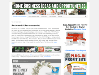 business-opportunity-from-home.com screenshot