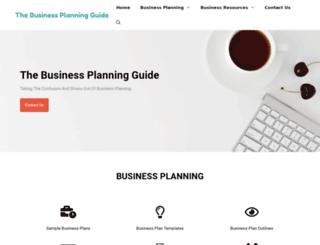 business-plans-guide.com screenshot