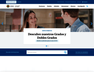 business-school.ceu.es screenshot