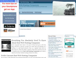 business.agentmonhost.com screenshot