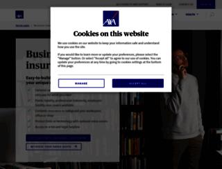 business.axainsurance.com screenshot