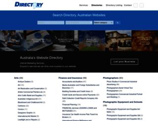 business.directory.com.au screenshot