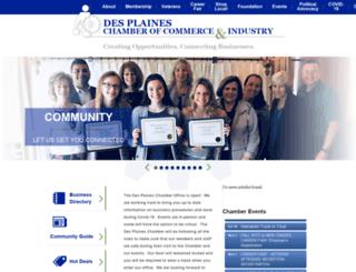 business.dpchamber.com screenshot