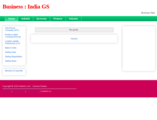 business.indiags.com screenshot