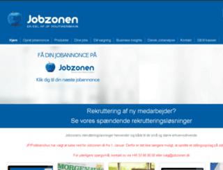business.jobzonen.dk screenshot