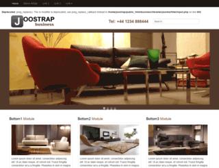 business.joostrap.com screenshot