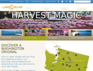 business.lakechelan.com screenshot