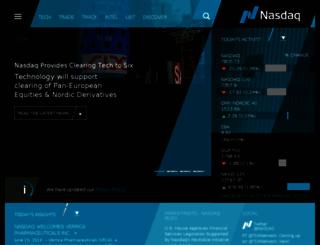 business.nasdaq.com screenshot