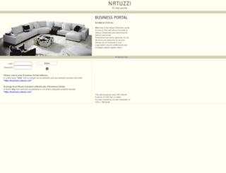 business.natuzzi.com screenshot