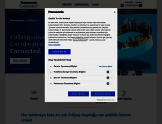 business.panasonic.com.tr screenshot